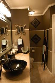 brown bathroom ideas gold paint color with white and seafoam tile bathroom ideas