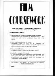 film coursework booklet pt1
