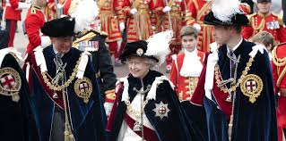 the order of the garter the royal family