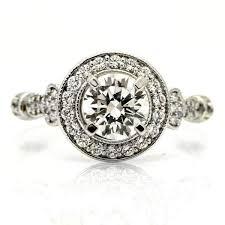unique 1 carat forever brilliant moissanite u0026 35 carat diamond