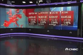 markets sharply lower after us report
