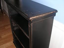 furniture white corner distressed bookcase distressed bookcase