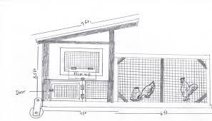 free hen house blueprints home deco plans