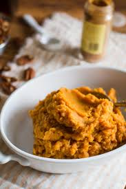 sweet potato thanksgiving side dish lightened up sweet potato casserole b britnell