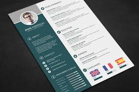 free minimal resume psd template free job resume template photoshop therpgmovie