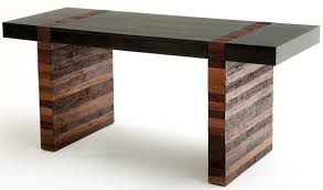 Desks Modern Modern Rustic Desk Contemporary Wood Office Desk Desk