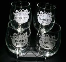 engraved barware dinner is poured personalized glasses engraved barware at