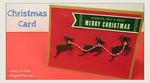 christmas crafts diy christmas card reindeer paper crafts