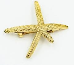 starfish hair clip starfish hair clip