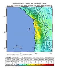 Map Of West Coast States by Chile Earthquake No Tsunami Warning For California Or West Coast