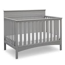 Delta Convertible Crib Bed Rail Delta Children Fancy 4 In 1 Convertible Crib In Grey Bed Bath