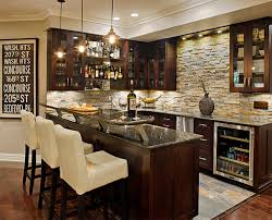 Home Bar Interior Design by Interior Sleem Home Bar Design From Basement Renovation With