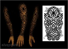 celtic sleeve by shepush on deviantart