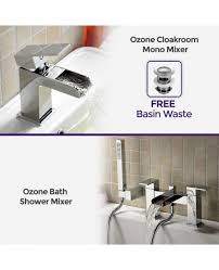 ozone bathroom chrome brass modern basin and bath shower mixer tap more views ozone bathroom chrome brass modern basin and bath shower mixer tap
