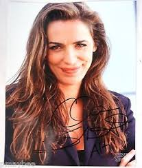 zena the warrior princess hairstyles autographed 8 x10 photo claire stansfield as alti xena warrior
