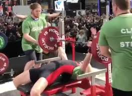 Biggest Bench Press In The World - a new world record jennifer thompson benches 142 5kg at 63kg