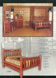 Full Bedroom Manataka Ozark Cedar Furniture Cabin Ranch Lake Home U0026 Lodge