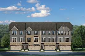 Ryan Homes Jefferson Square Floor Plan by New Construction Townhomes For Sale Schubert Ryan Homes
