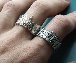 cool jewelry rings images Cityscape rings jpg