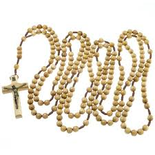 20 decade rosary 20 decade light wooden rosary my rosary