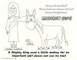 bible lesson u0026 craft palm sunday donkey