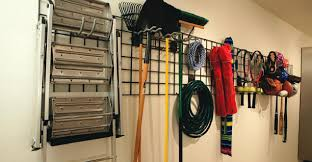 Garage Ceiling Storage Systems by Photo Becky Lugafet Garage Wall Hanging System By Gladiator