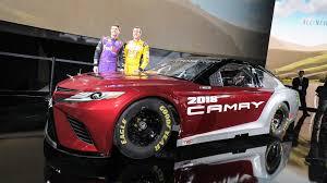 toyota camry custom 2018 toyota camry lends its design to new nascar race car