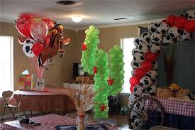 enchanted balloon party and event decors farm animals