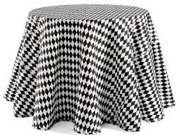 Harlequin Home Decor Harlequin Faux Dupioni Round Tablecloth Traditional Home Decor