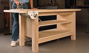 Plans For Making A Wooden Workbench by Rock Solid Plywood Bench Startwoodworking Com