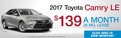 toyota lease lease specials grossinger auto group
