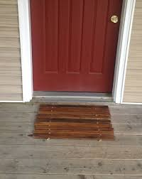 Entryway Door Mats Pallet Doormat Entryway Mat Diy Wooden Mat 101 Pallets