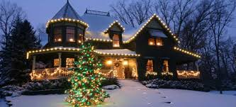 Commercial Christmas Decoration Rentals by Christmas Decor Professional Christmas Light Installation