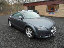 used audi tt coupe for sale used audi tt 2007 model 2 0t fsi 2dr petrol coupe grey for sale in