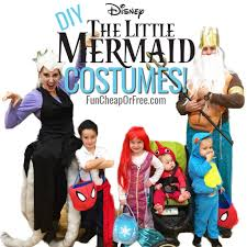 Diy Womens Halloween Costume Ideas Diy Little Mermaid Costume Cutest Family Halloween Costumes Ever