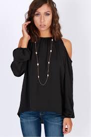 open shoulder blouse last request open shoulder blouse black