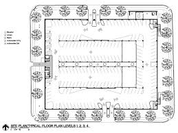 architects house plans parking building floor plan notable gallery of car park one