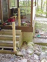 How To Build A Banister For Stairs How To Build A Basic 2x4 Handrail For A Deck Or Balcony