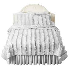 Target Shabby Chic Bedding Simply Shabby Chic Ruffle Quilt White Target B3dr00m