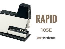 agrafeuse electrique bureau professionnelle agrafeuse electrique rapid 105e