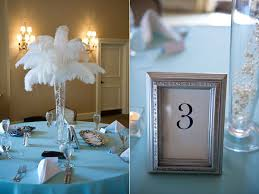 bridal shower centerpiece ideas blue themed bridal showers bridalguide