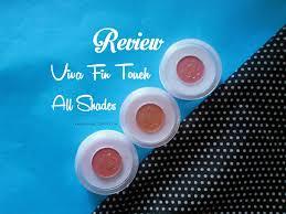 Eyeshadow Viva Warna review viva fin touch blush on til cantik