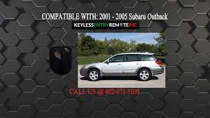 how to replace subaru outback key fob battery 2001 2002 2003 2004