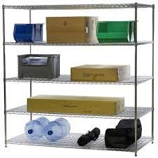 5 Shelf Wire Shelving What Kind Of Wire Shelving Is Right For Me The Shelving Blog
