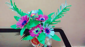 how to make a paper flower bouquet for home decor guldasta