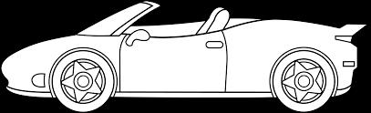 car ferrari drawing ferrari line art free clip art
