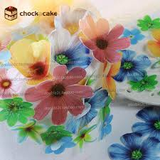 where to buy edible paper aliexpress buy edible flowers for cake decorations 37pcs
