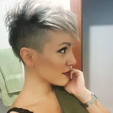 very short pixie hairstyle with saved sides do i dare hair and makeup pinterest short hair hair style