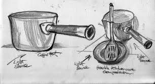 still life with man made objects u2013 sketches stuart brownlee