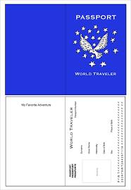 passport template u2013 19 free word pdf psd illustrator format